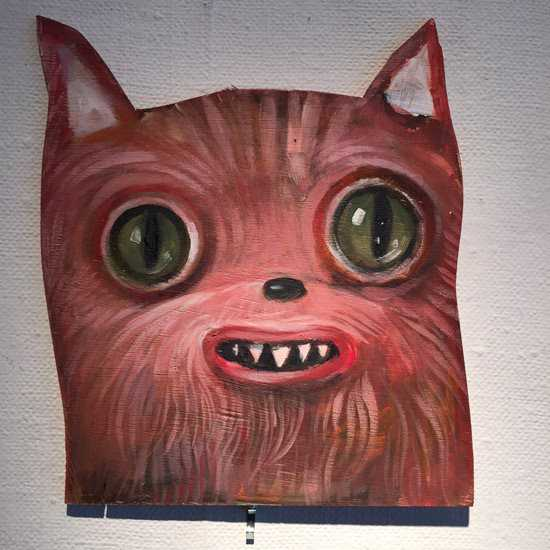 Paintingbomb Pink Cat