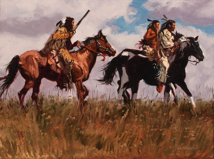 SOLD- Grassy Crest by  Glen Edwards - Masterpiece Online