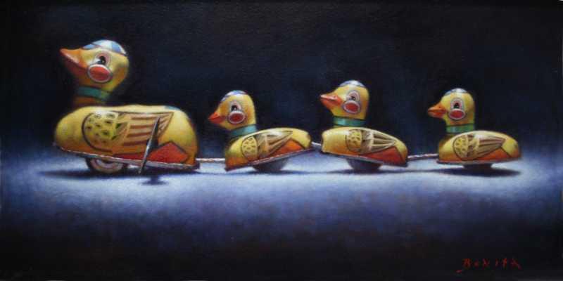 Ducks In A Row by  Todd Bonita - Masterpiece Online