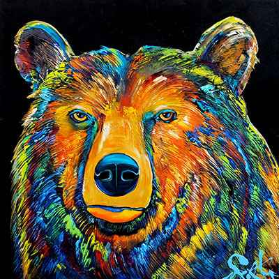 Bear - DS  182963 by  Brian Porter - Masterpiece Online
