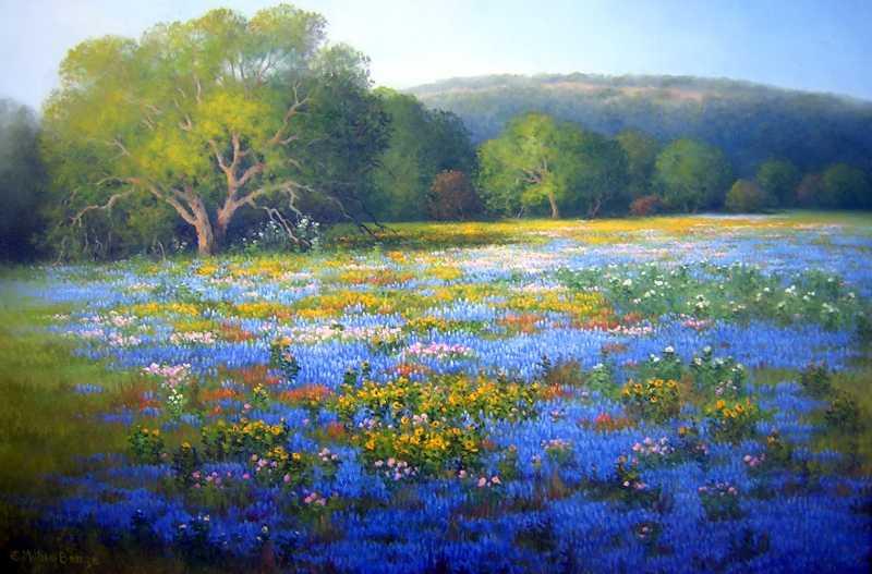 Abundant Texas Spring by Mrs Milbie Benge - Masterpiece Online