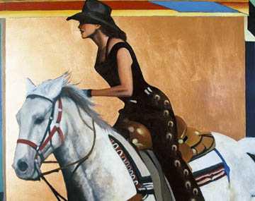 Barrel Racer by  David DeVary - Masterpiece Online