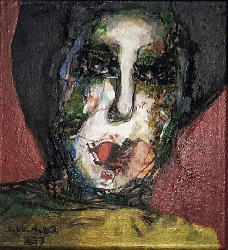 Small Portrait #2 by  Aula Alayoubi - Masterpiece Online