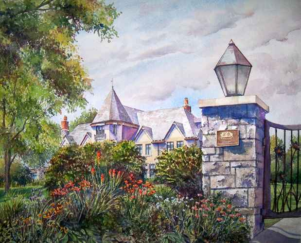 Governor's Residence ... by  Ralph Fontenot - Masterpiece Online
