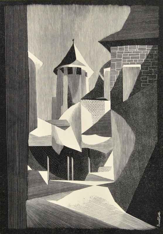 Hotel de Friac (1958)  by  Bernard Brussel-Smith (1914-1989)