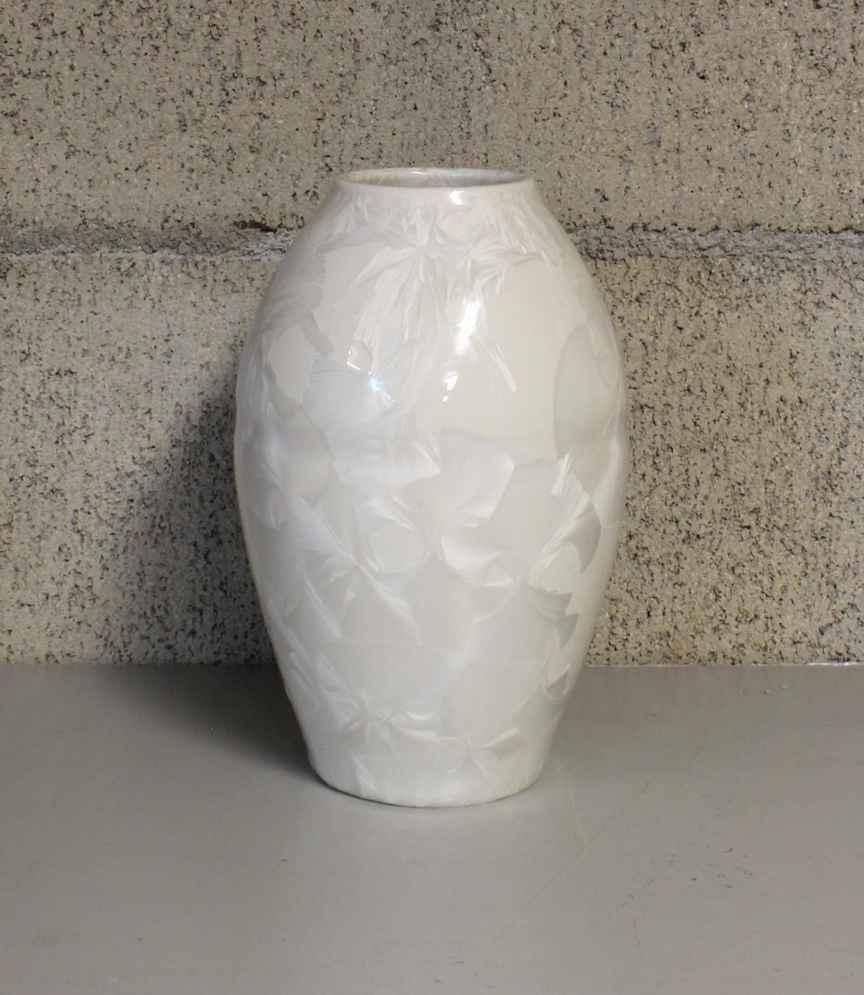 Short White Vase by  Duly Mitchell - Masterpiece Online