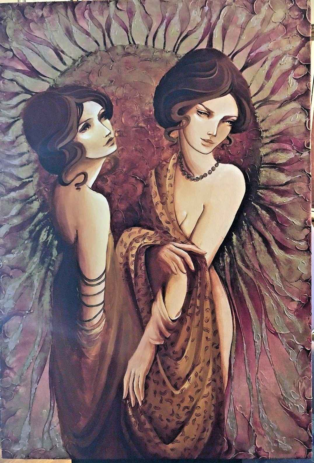 Large Oil on Canvas by  Anisa Vilner - Masterpiece Online