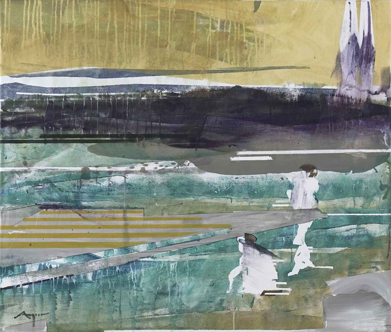 Boys at the Lake by Mr. Michael Azgour - Masterpiece Online
