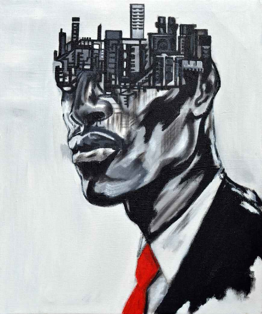 Mind Structure V by Mr John Madu - Masterpiece Online