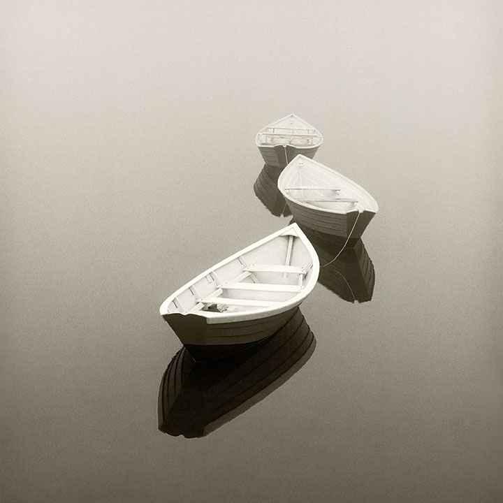 Three Dories - 111369 by  Michael Kahn - Masterpiece Online