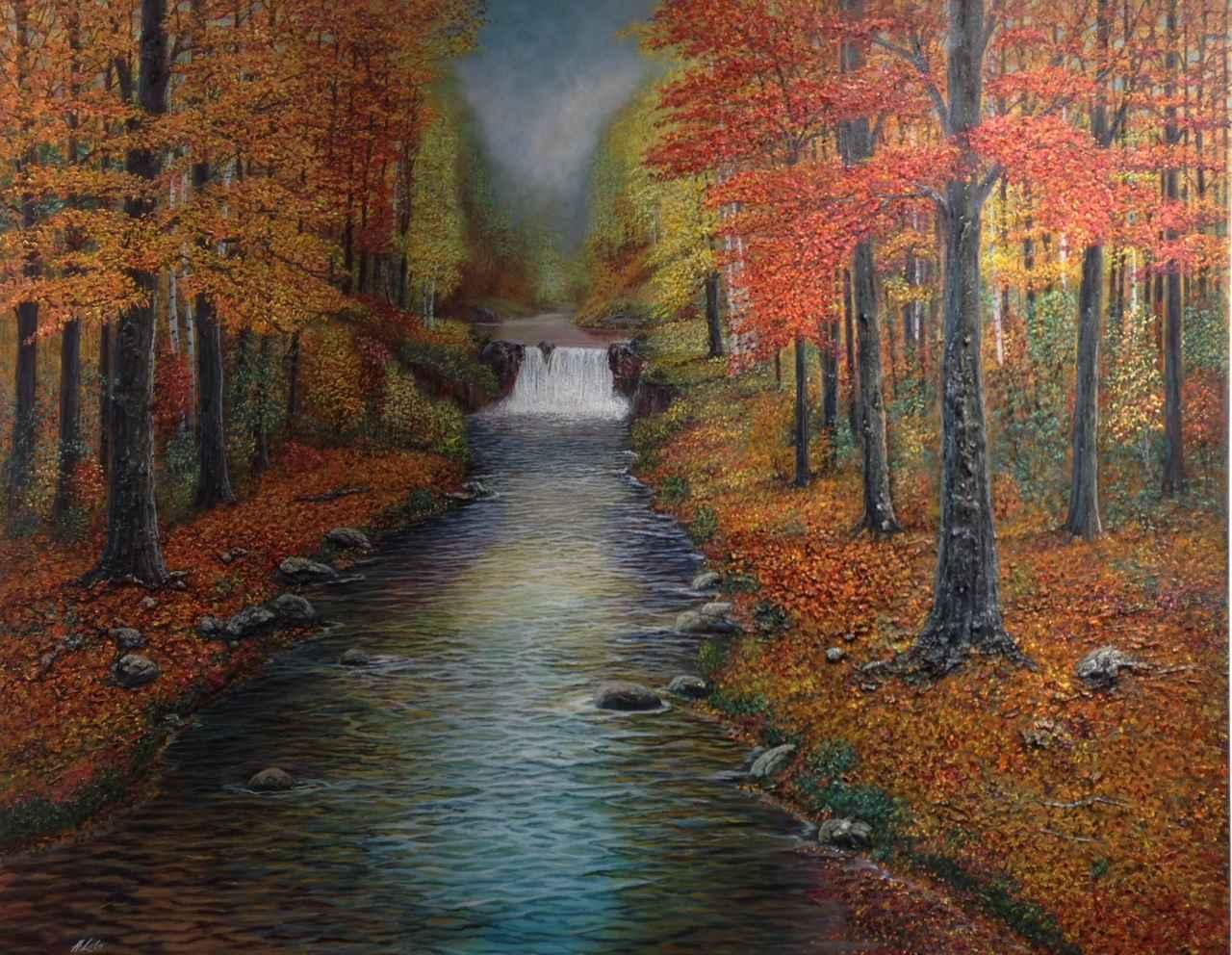 Autumn Glory by  Henry Lobo - Masterpiece Online