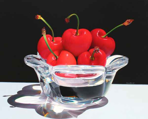 Passion Red (cherries) by  Francisco  Cienfuegos Rivera - Masterpiece Online