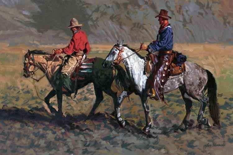A NEW WORK- Muddy Fl... by  Glen Edwards - Masterpiece Online