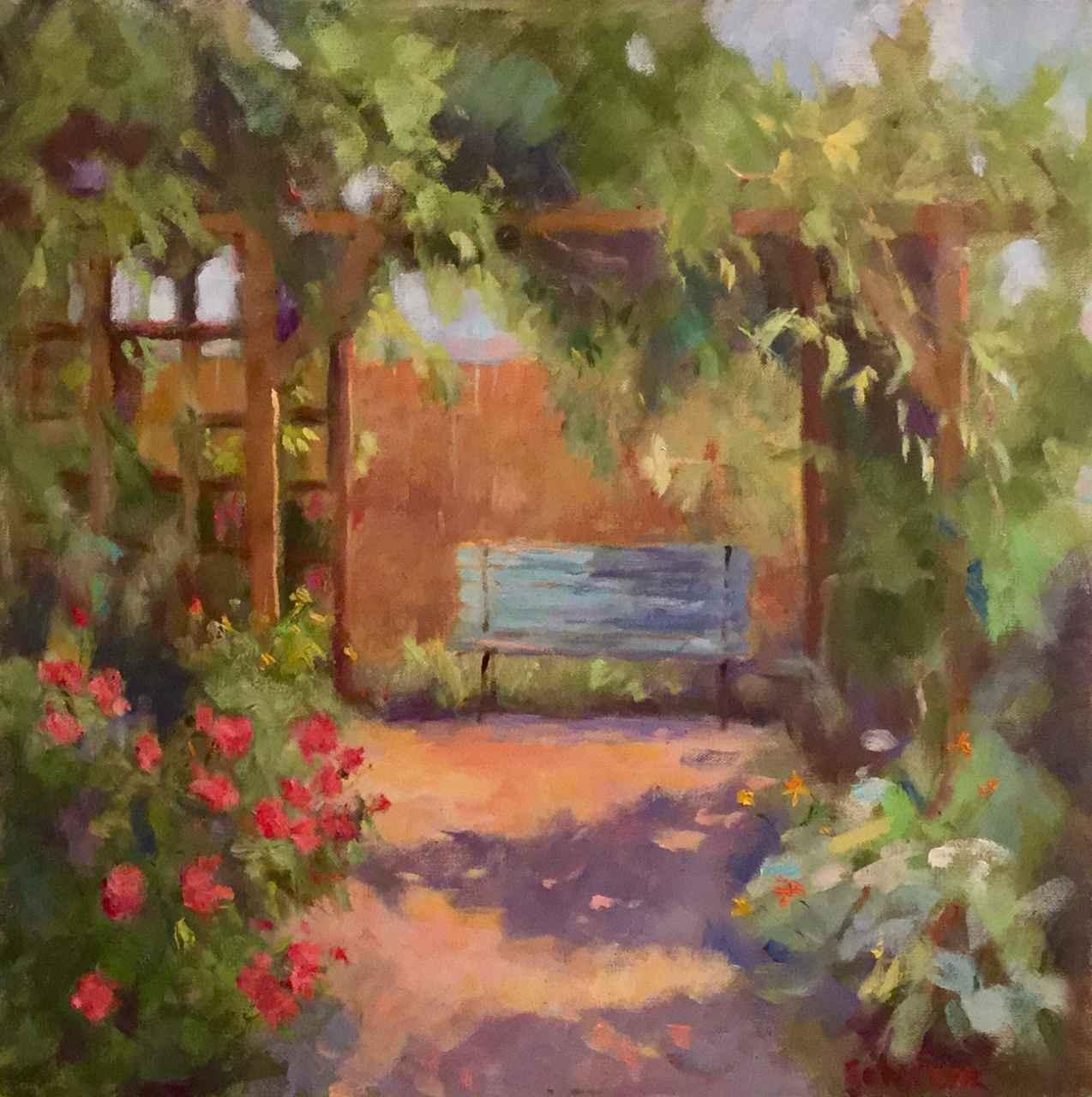 A Little Bit of Eden by  Sharon Schwenk - Masterpiece Online