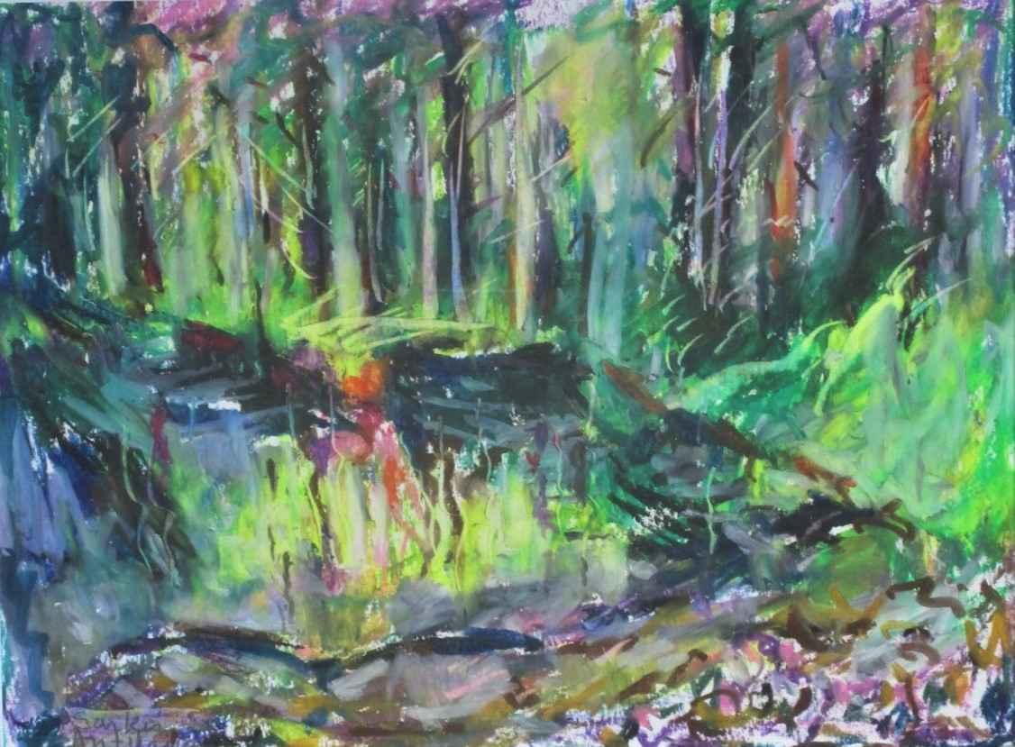 Title Unknown (forest) by  Sarkis Antikajian - Masterpiece Online