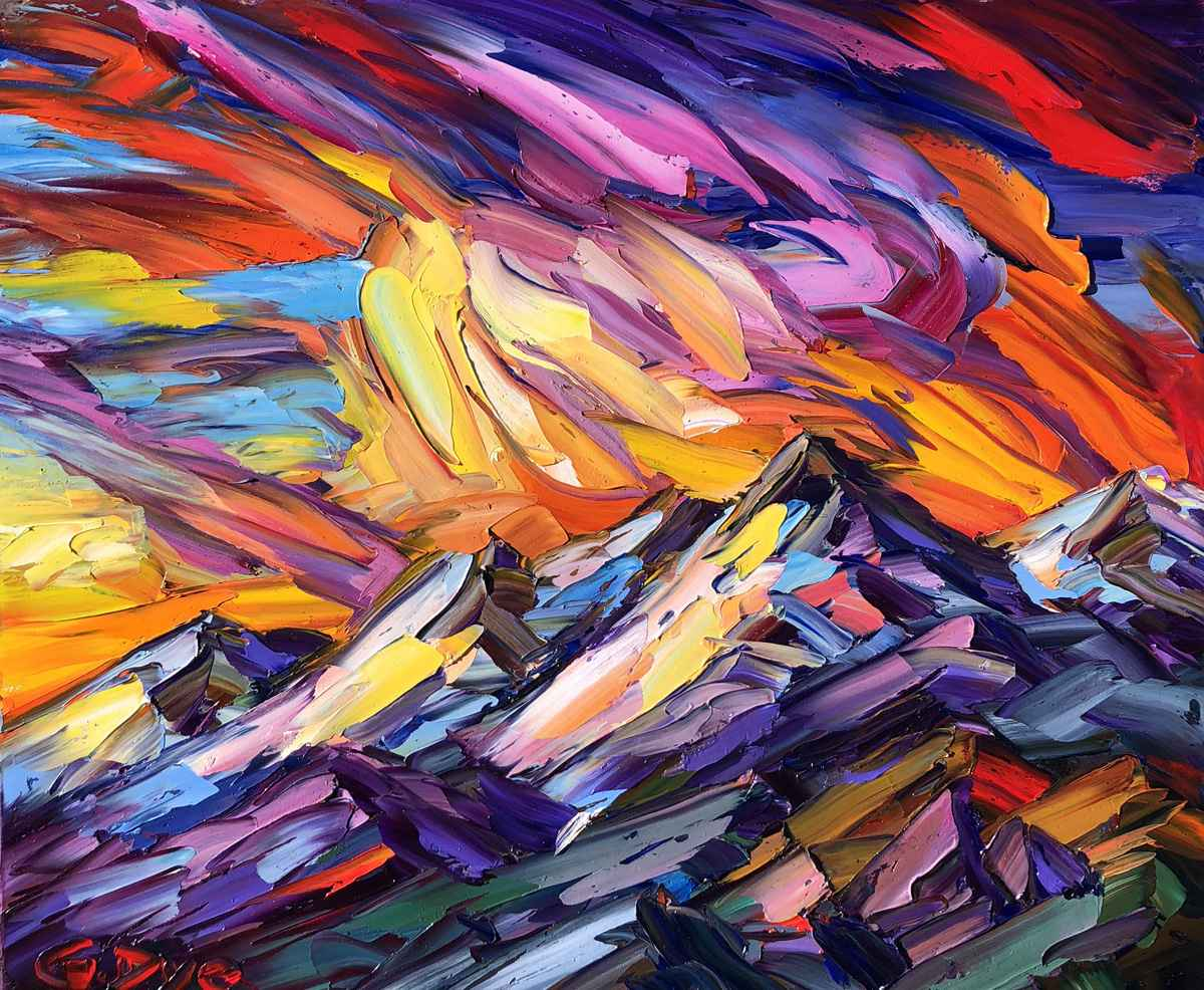 Rocky Mountain Dawn by  Greg Dye - Masterpiece Online