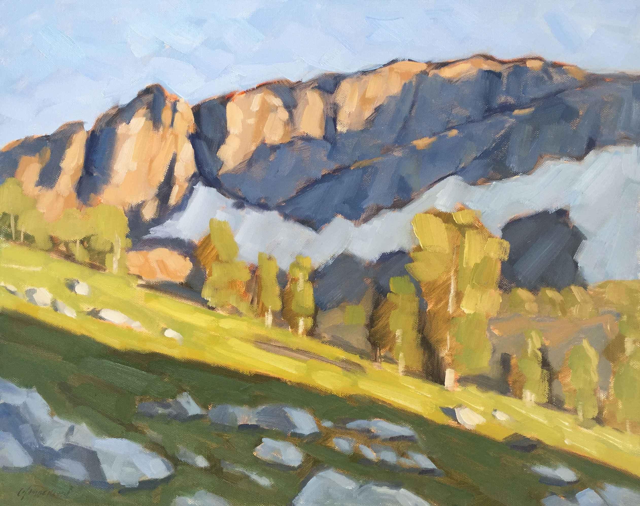 Spring In The Sierra,...