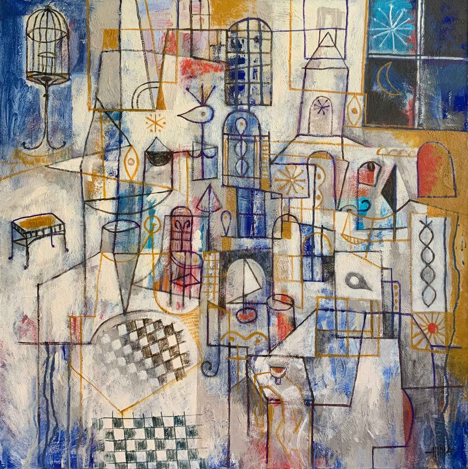 Drawing Room by  Brian Hinkle - Masterpiece Online