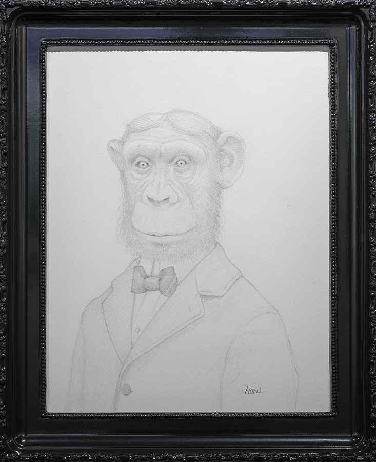 Sam, Sam The Monkey Man by Travis Louie
