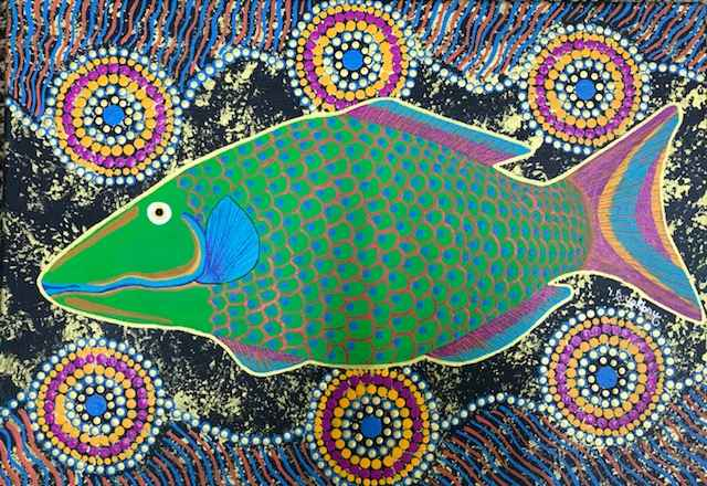 Parrot Fish by Ms Irene Bowyer - Masterpiece Online