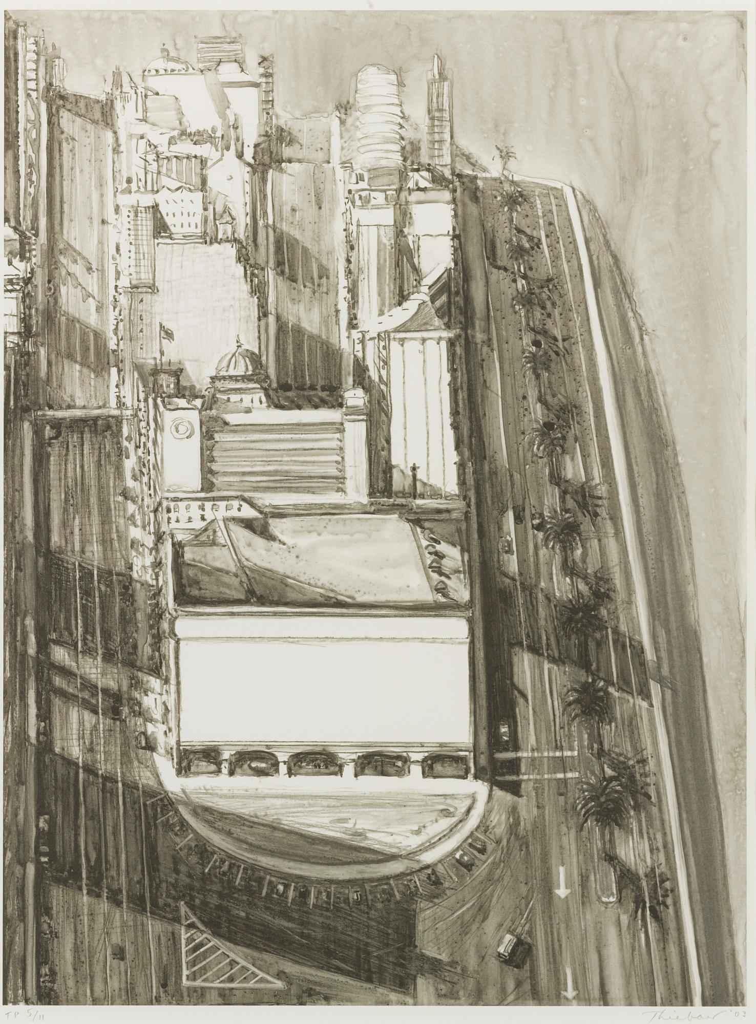 City Views (Trial Pro... by  Wayne Thiebaud - Masterpiece Online