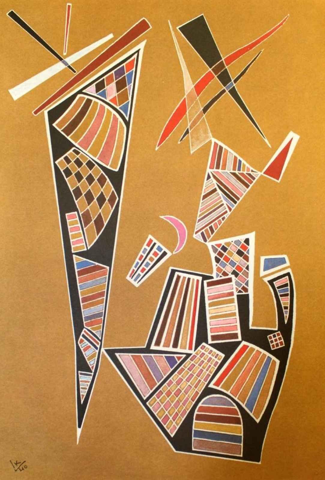 Tavola 19 by  Wassily Kandinsky - Masterpiece Online
