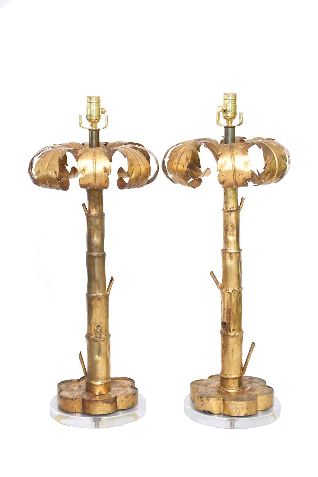 Pair of Gilt Metal Pa... by  Italian  - Masterpiece Online