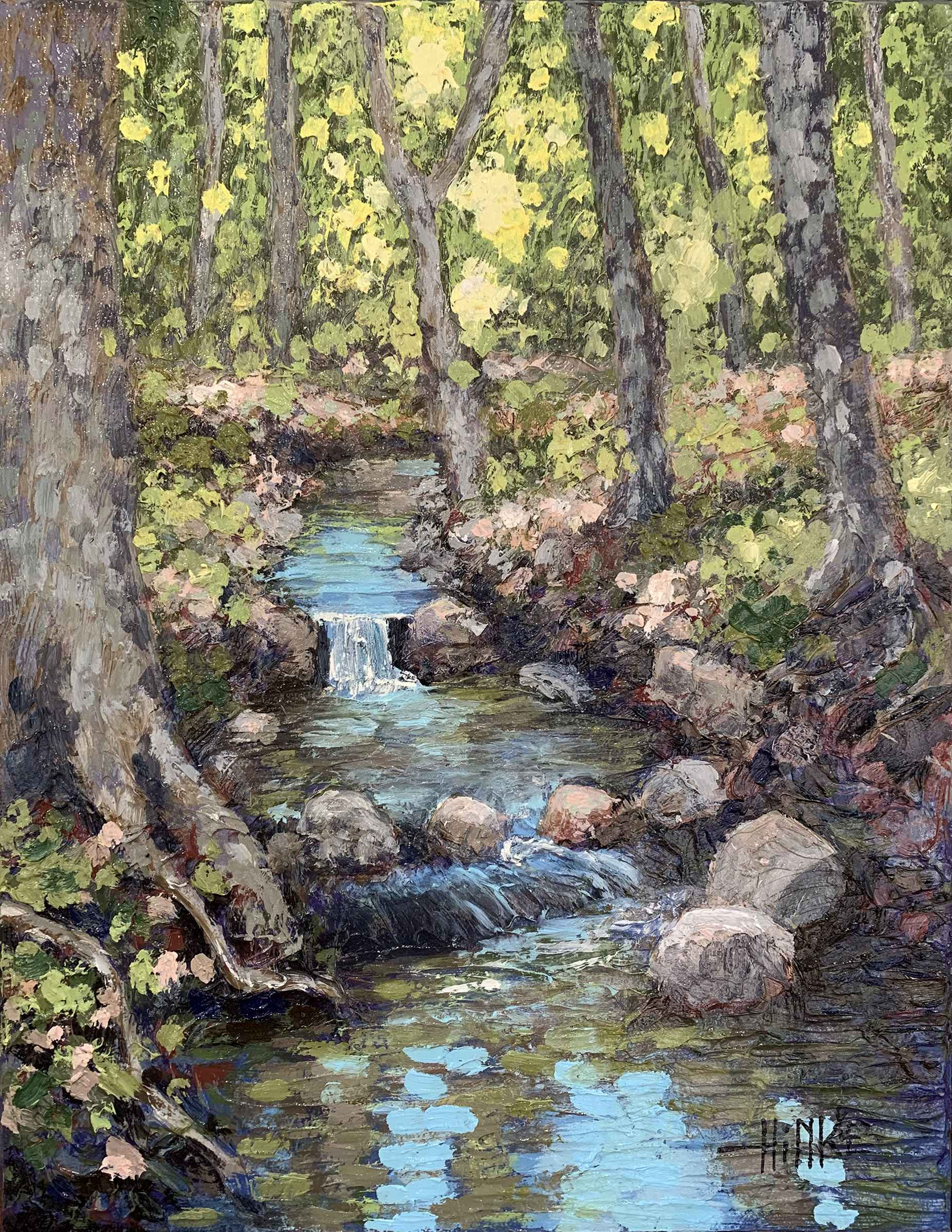 Flint Hills Creek #10 by  Brian Hinkle - Masterpiece Online