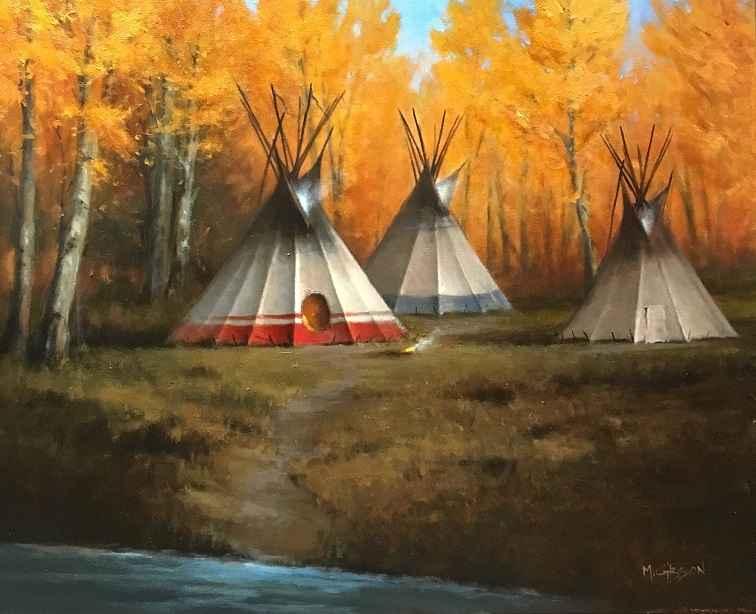 Autumn Fire  by Mr. Mark Gibson