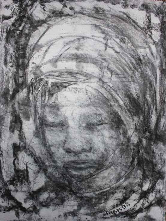 Woman Study 3 by  Makemba Kunle - Masterpiece Online