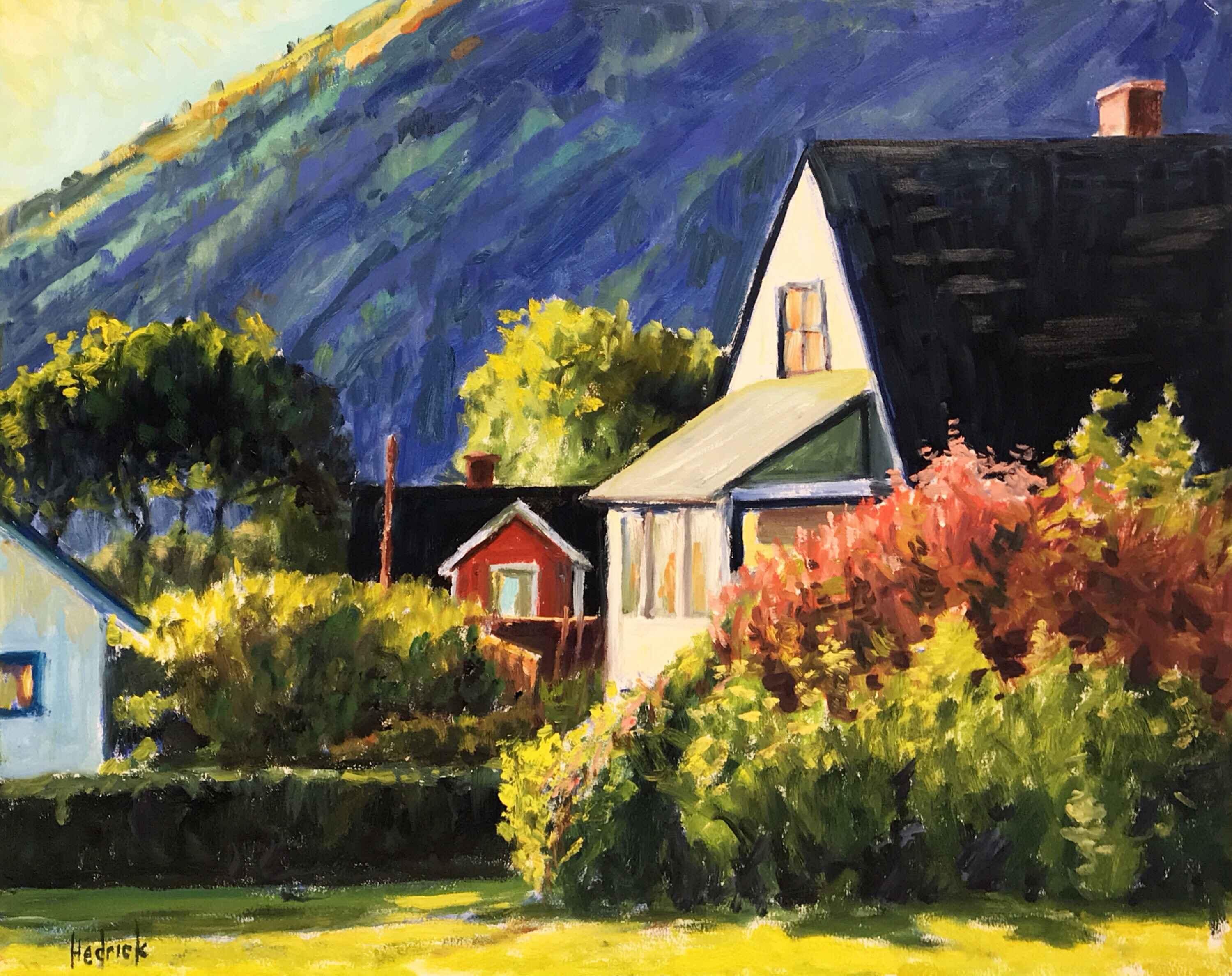 Nelson Viewpoint by  Ron Hedrick - Masterpiece Online