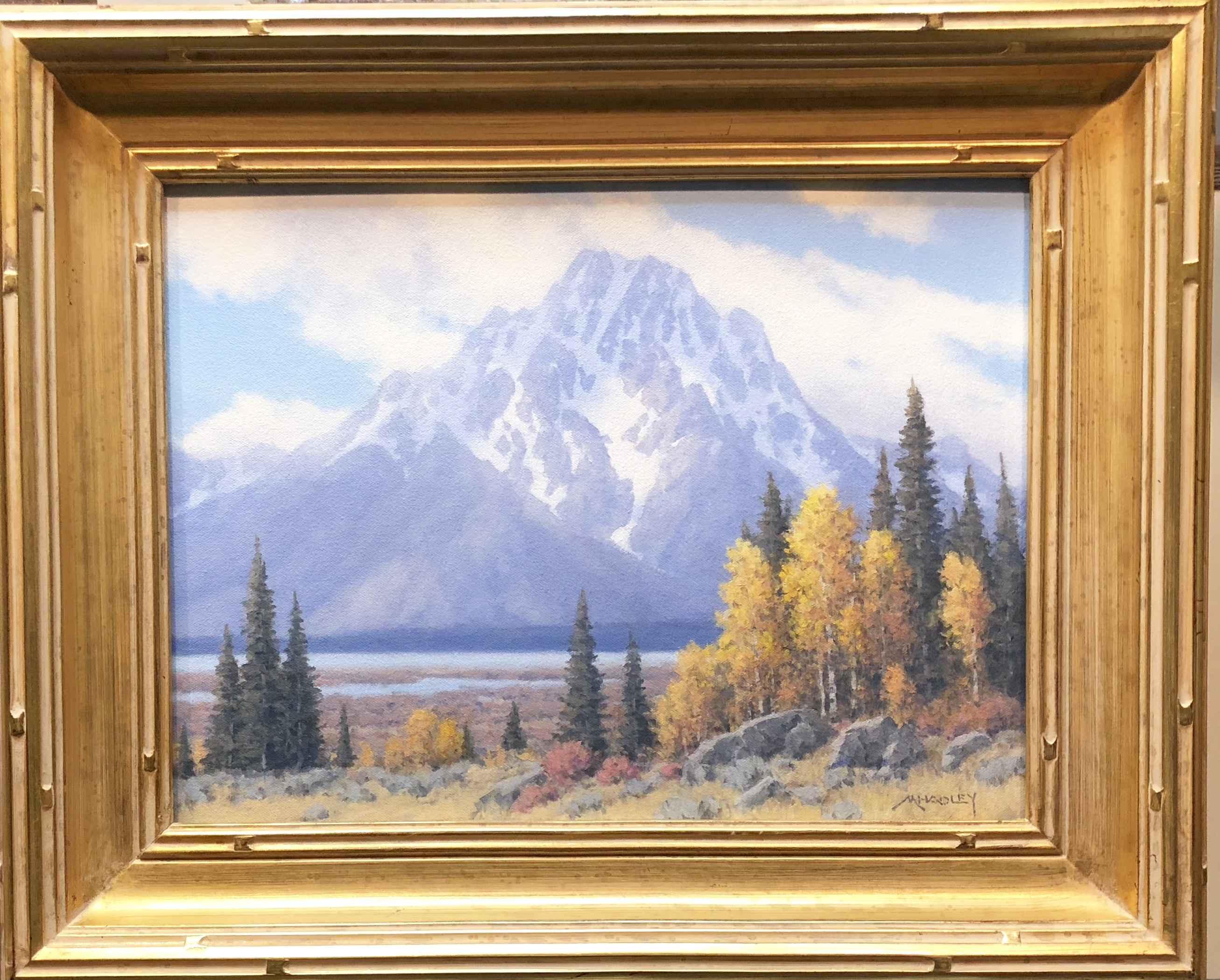 Jackson Lake Fall by  Michael Hadley - Masterpiece Online