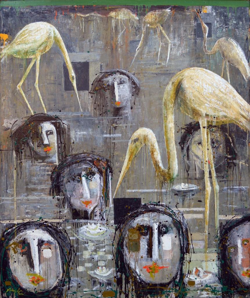BANISTAS CON GARZAS by Mr. VLADIMIR CORA - Masterpiece Online