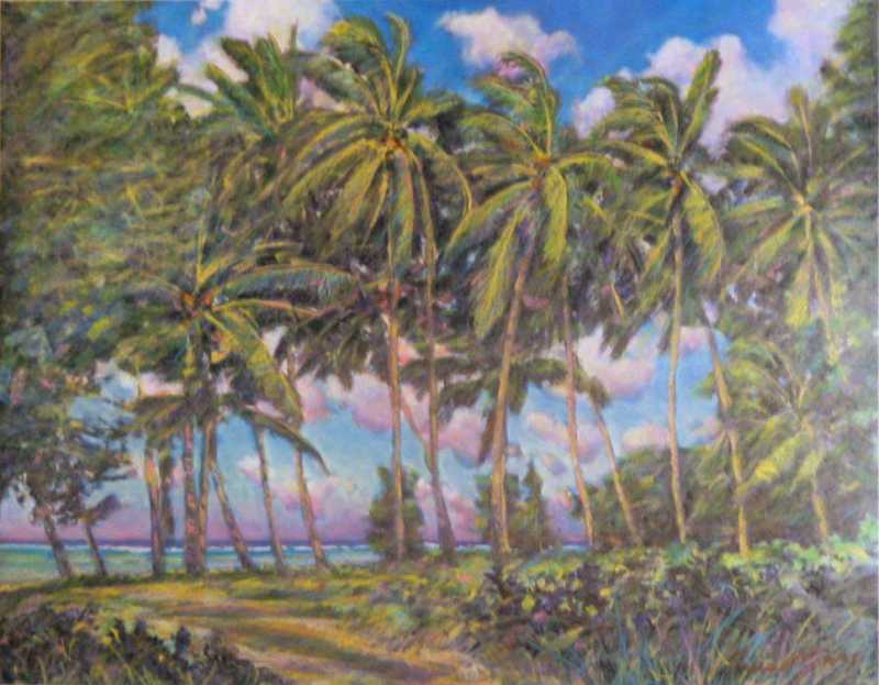 North Shore Palms by  Russell Lowrey - Masterpiece Online