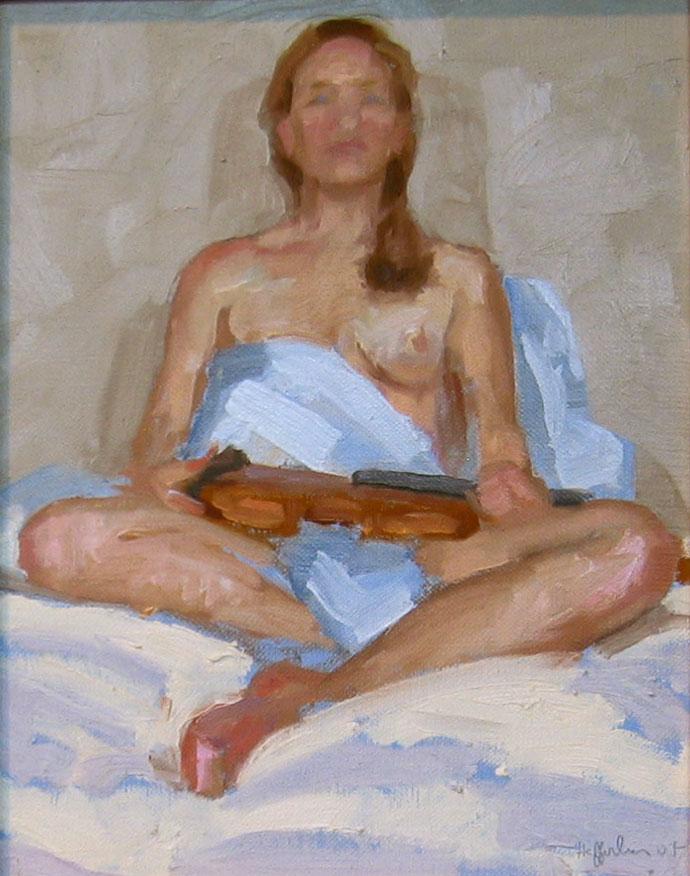 Study for Goddess of ... by  Melissa Hefferlin - Masterpiece Online