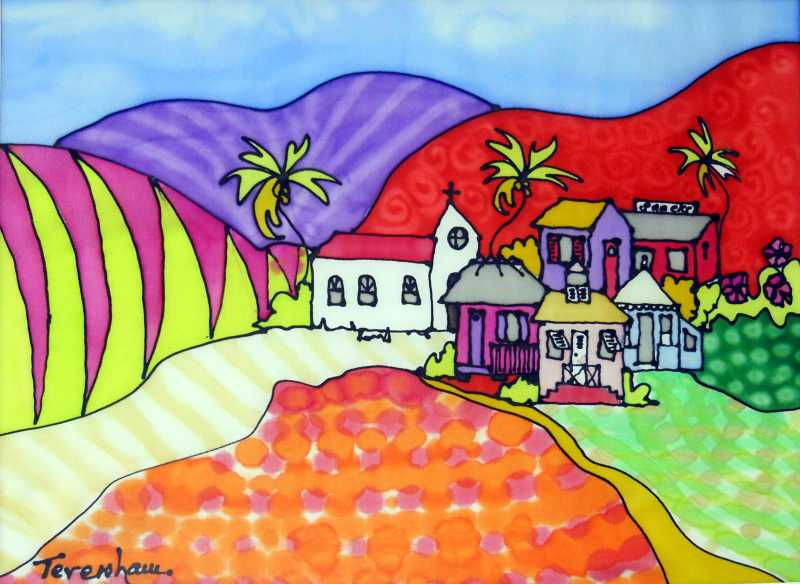 Barbados  Patchwork by Mrs. Angie Teversham - Masterpiece Online