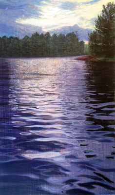 Late Afternoon by  Joe Sampson - Masterpiece Online