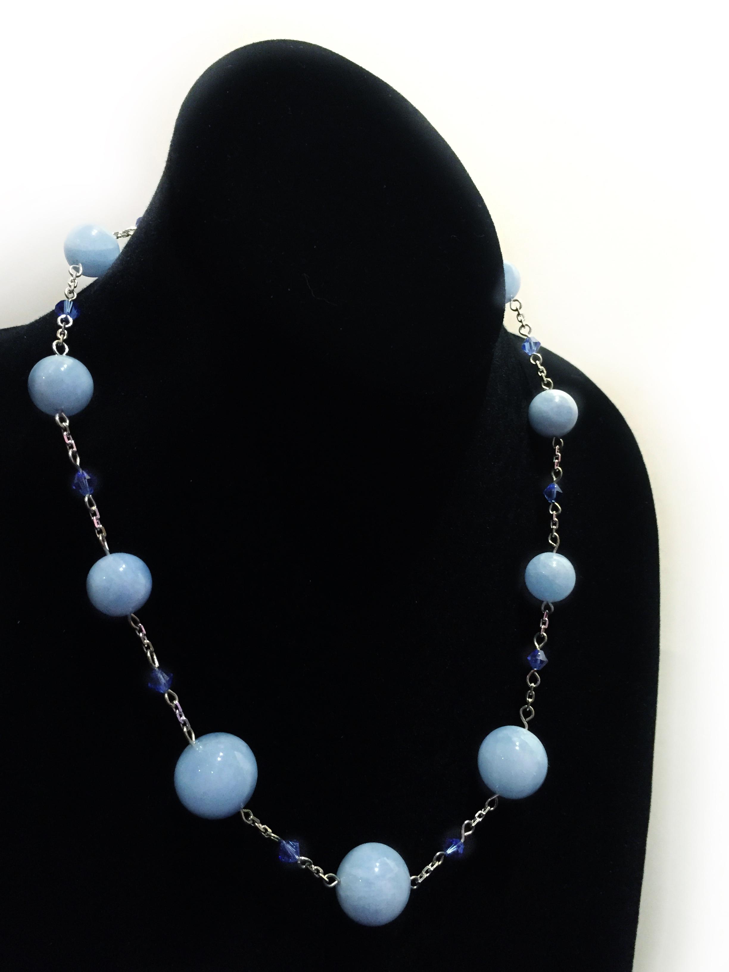 Aquamarine Necklace by  Todd Stallkamp - Masterpiece Online