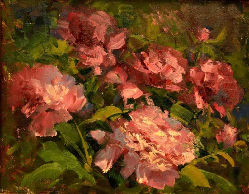 Pink Peonies by MS Kaye Franklin - Masterpiece Online