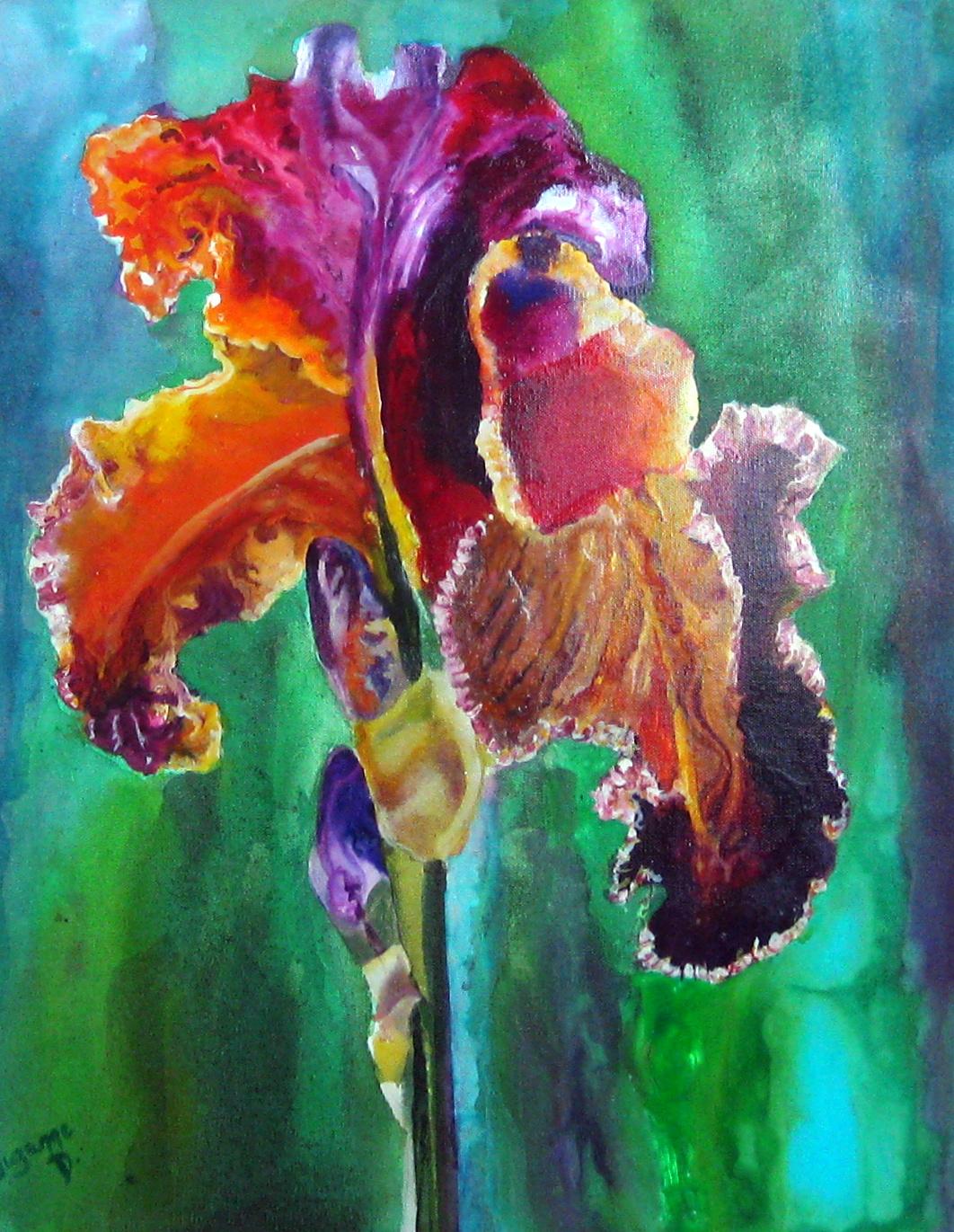 Iris by  Suzanne Davis - Masterpiece Online
