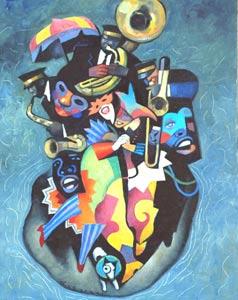 Monterey Blues by  Gary Kelley - Masterpiece Online