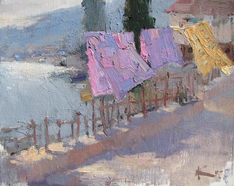 Laundry Day by  Slava Korolenkov - Masterpiece Online