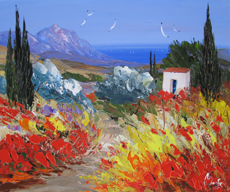 Bay Highlands by  Louis  Magre - Masterpiece Online