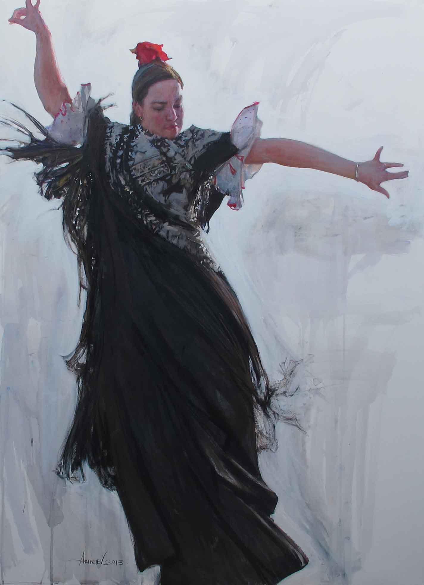 Marta: Bolerias by  Daud Akhriev - Masterpiece Online