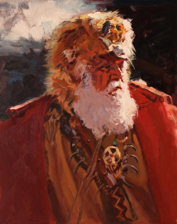 SOLD- Lone Trapper by  Glen Edwards - Masterpiece Online