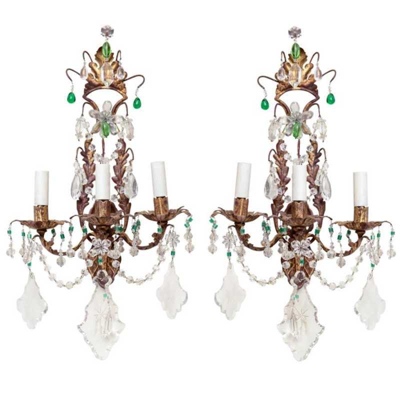 Unusual Pair of Gilt ... by  Italian  - Masterpiece Online