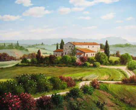 Valley Fields by  Soon Ju Choi  - Masterpiece Online
