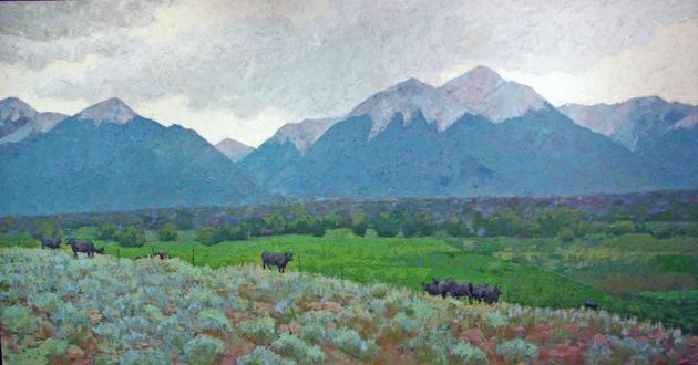 Colorado Black and Bl... by  Melissa Hefferlin - Masterpiece Online