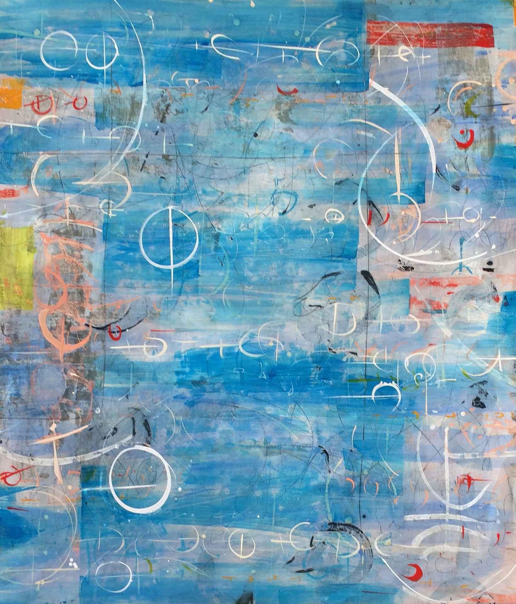 Blue Lagoon II by  Laura Wait - Masterpiece Online