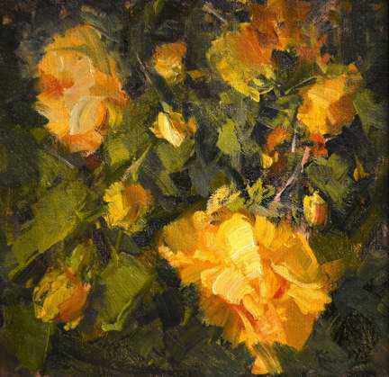 Yellow Roses by MS Kaye Franklin - Masterpiece Online